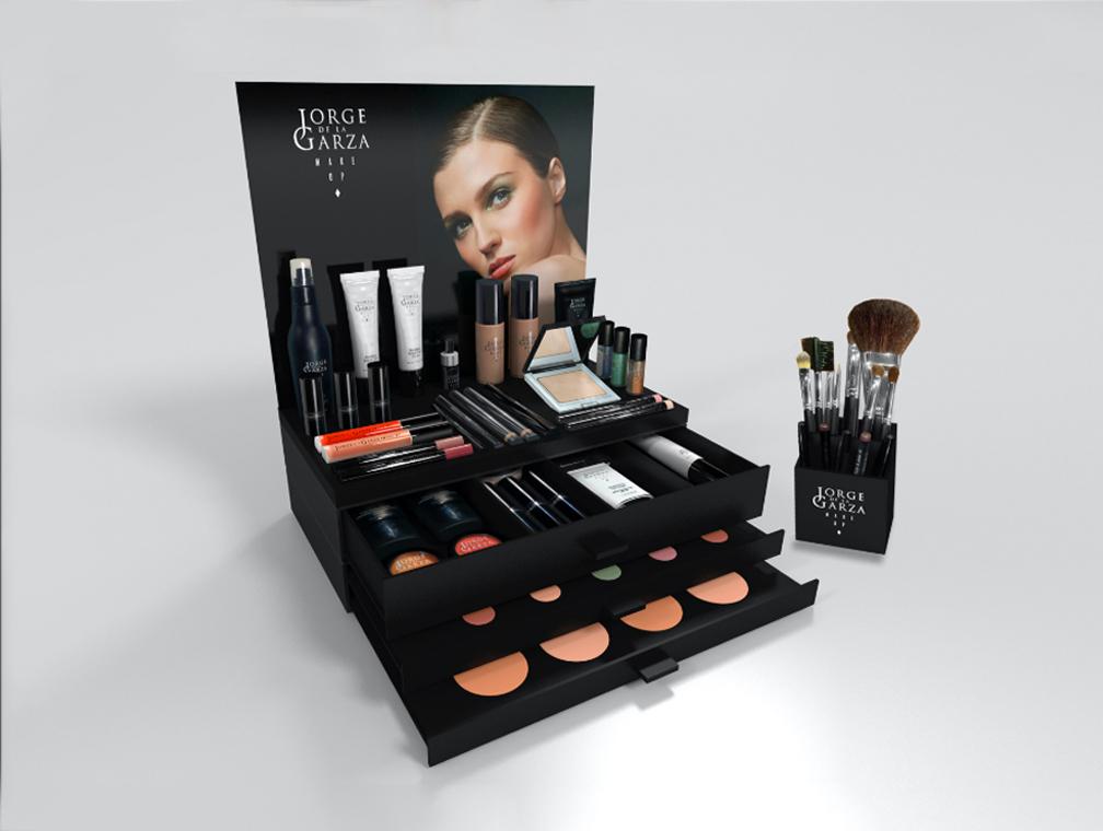 Maquillaje de Jorge de la Garza